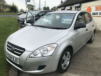 58 KIA CEED 1.6 CRDI 5 DOOR 1 OWNER 35000 MILES MAINTAINED BY OURSELVES