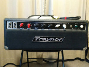 1969 Traynor YSR-1 Custom Reverb all-tube head