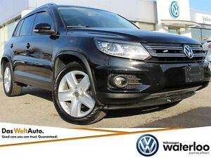 2015 Volkswagen Tiguan Comfortline AWD - BRAND NEW PRICE! Kitchener / Waterloo Kitchener Area image 1