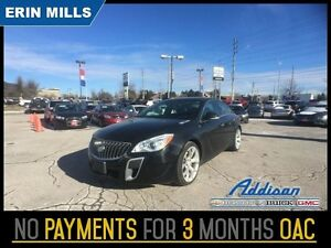 2014 Buick Regal GS   AWD Navi Leather Loaded