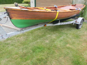 Awesome rowboat - cedar strip Cosine Wherry