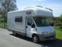 HYMER CAMP C546 , 5 berth motorhome with rear kitchen