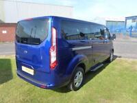 2015 15 Ford TOURNEO CUSTOM 300 Limited 125ps LWB Minibus A/C Alloys