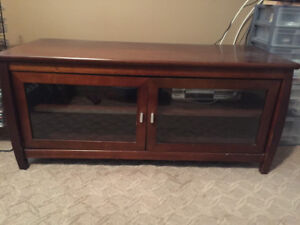 TV Table unit with arm bracket for flat screen TV