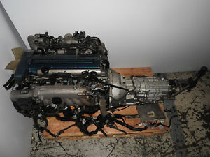 JDM Toyota Supra 2JZGTTE VVTI Engine 6 Speed GETRAG Transmission