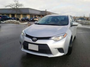 2014 Toyota Corolla LE Sedan PERFECT CONDITION SAFETY DONE