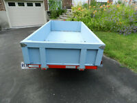 Heavy Duty Folding Utility Trailer