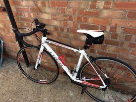 Trek 1.1 52cm frame racing bike -excellent condition