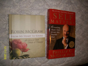 Dr. Phil and Robin books