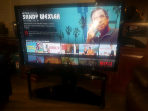 55'' Toshiba LED 1080 TV with TV Stand