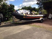 Hummer rib boat