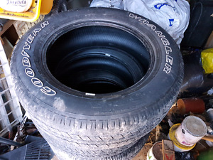 Used tires  Goodyear wrangler  265x60rx20
