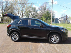 Mazda CX-5 for short-term lease, 33,000 km per year