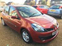 2007 Renault Clio 1.6 VVT 111bhp ) ( a/c ) auto Dynamique Cambelt done at 61k