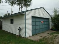 Vacant Now! Double Heated Garage - Great for dry storage!