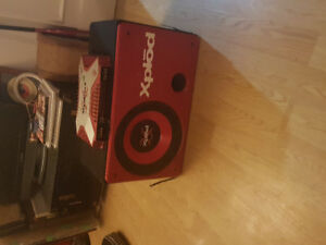 Sony Xplod 12 inch subwoofer box and 800 watt amp