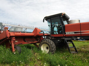 Hesston 8250s swather for sale