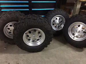 Rims and tires ATV