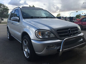 2002 Mercedes-Benz M-Class ML500 SUV, Crossover