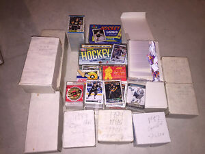 Hockey Card Collection 80s & 90s Sets/Singles/Unopened Boxes++