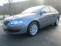 07/07 VW PASSAT 1.9 TDI S 105 BHP 4DR SALOON IN MET GREY