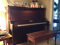 Mission Style Mason Risch Piano Beautifully Restored