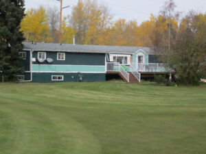 Manufactured home with basement on acreage - Edson, AB