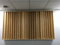 Professional Wooden Studio Diffuser for Acoustic Treatment