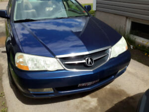 03 acura tl type s with no rust