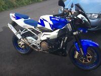 Aprilia Tuono R. P/x 1000/750/600 sports bike , cash either way