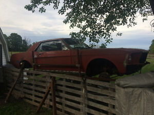 1968 Ford Mustang Project/Parts Car