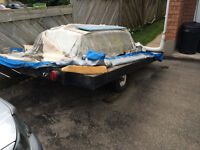 Flat Bed Utility Trailer