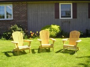 Adirondack Chairs for lawns and patio