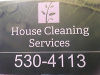 Cleaning services / services d'entretien ménager