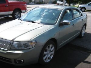 REDUCED TO SELL!  2008 Lincoln MKZ Sedan Carleton Place