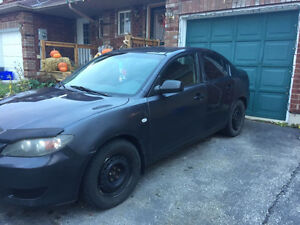 2005 MAZDA 3 E-TESTED NOT CERTIFIED