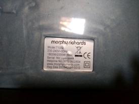 Morphy Richards Bagless Vacuum