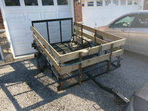Snowmobile and ATV and General purpose Utility Trailer