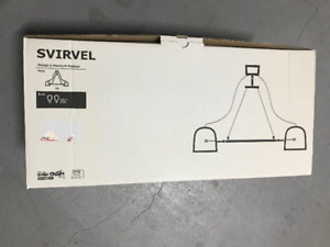 Ikea - Svirvel Lamp for Sale