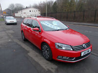 VOLKSWAGEN PASSAT SPORT BLUEMOTION TECH TDI DIESEL ESTATE SAT NAV ALLOYS 11 REG
