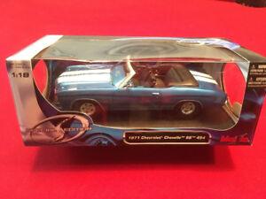 1:18 Diecast 1971 Chevrolet Chevelle SS 454 Modèle réduit