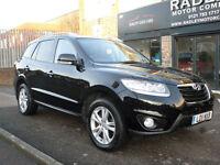 2011 Hyundai Santa Fe 2.2CRDi ( 7st ) Auto Premium 5DR 11 REG Diesel Black