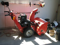 SNOWTHROWER: SIMPLICITY/SNAPPER PRO SERIES