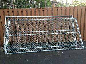 Two 10.5' Chain Link Gates for Sale. $350 for both.