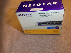Gigabit fast 8 port switch