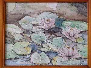 Original paintings- oil, watercolor, ink, pastel Edmonton Edmonton Area image 1
