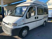 Fiat Ducatto Minute 2/4 Berth Motorhome Camper Boxer Fully Loaded FSH Full MOT