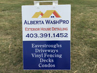 Alberta WashPro :  Exterior House Detailing