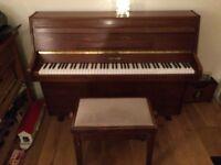 Beautiful 1980s ZENDER piano. Excellent condition.