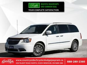 2014 Chrysler Town & Country TOURING W/LEATH